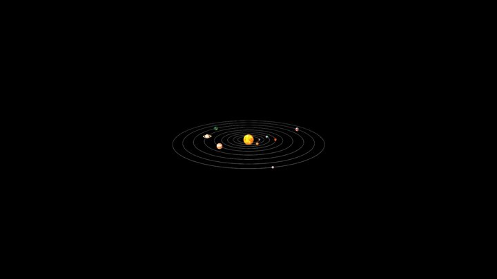 FÍSICA--SISTEMA SOLAR 3D Model