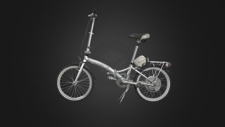 Dahon folding e-bike 3D Model