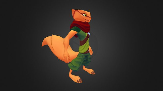 Mongoose 3D Model