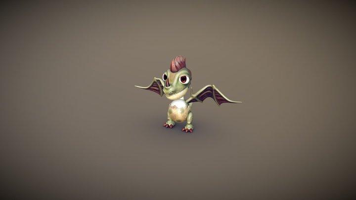 Dragon's Egg 3D Model