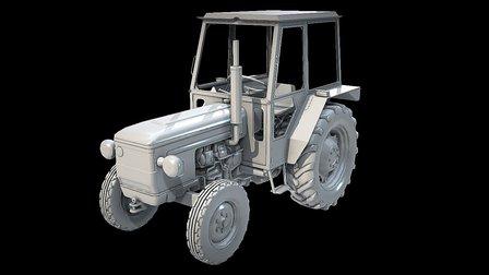 Zetor 4718 3D Model