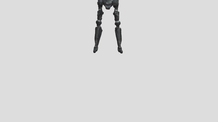 Robot Hip Hop Dance 3D Model