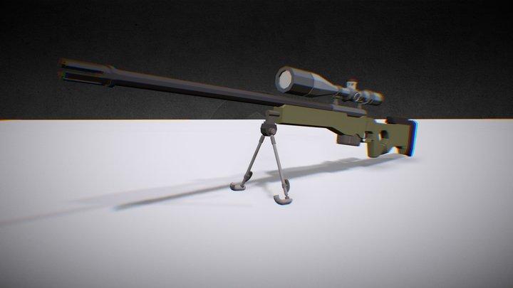 |Game Asset| Sniper AWP 3D Model