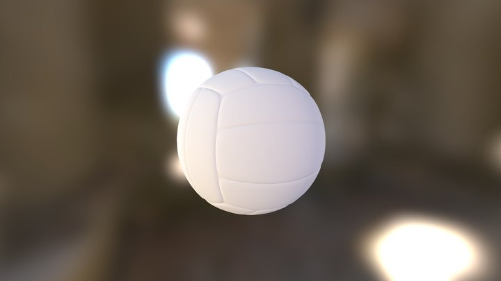 volley_ball_GL_test_object 3D Model