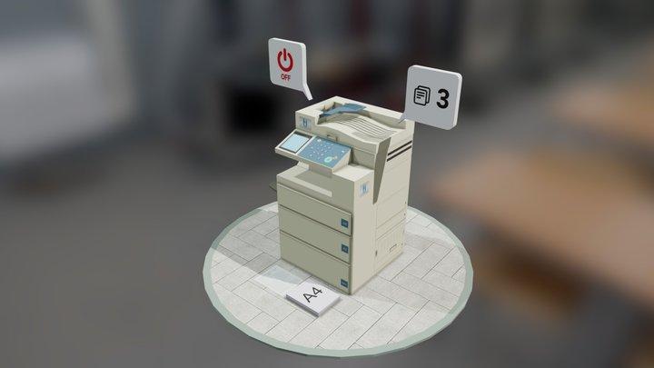 Machine FotoCopy [by Numiteg] 3D Model