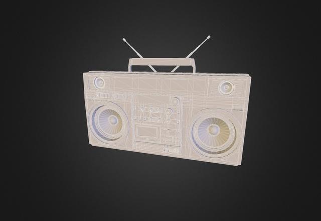 JVC RC-M90 3D Model