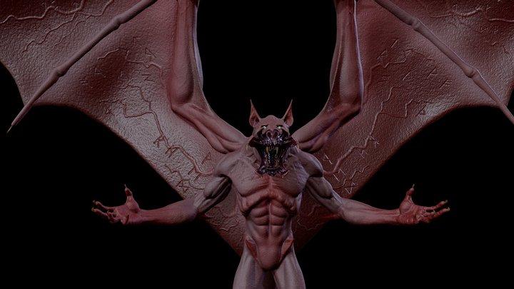Albine Vampire 3D Model