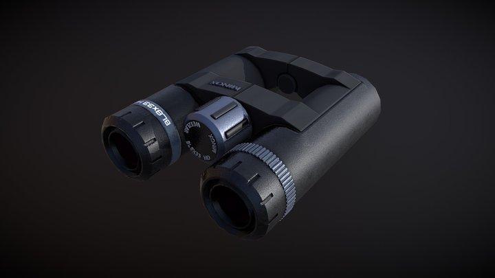 Binoculars Minox 3D Model