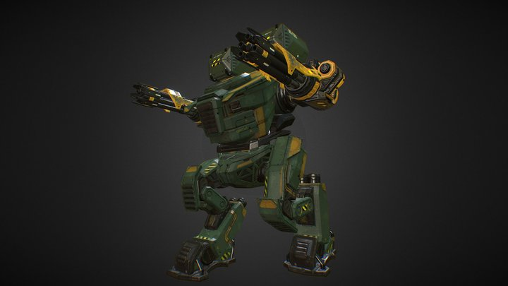Mech 1 - Mechs and Weapons Pack 3D Model