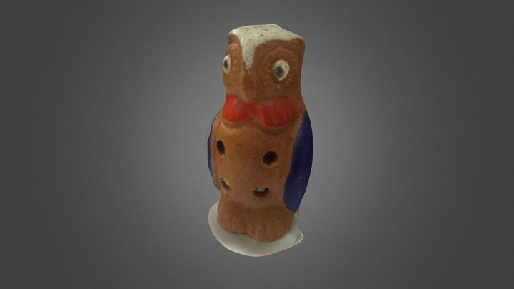 Owl Whistle scanned with The Microwave 3D Model
