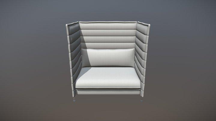 vitraloveseat1c 3D Model