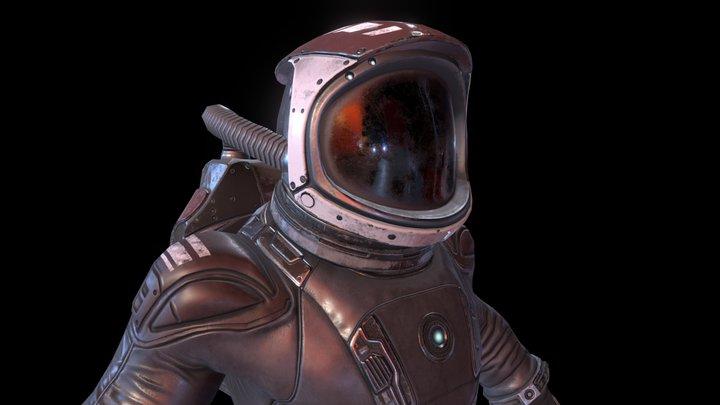Farlight Explorers Cosmonaut 3D Model