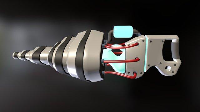 Alien Weaponry 3D Model