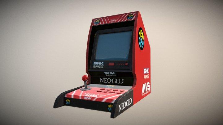 Crt arcade cabinet 3D Model