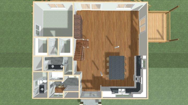 Layout Idea 4 3D Model