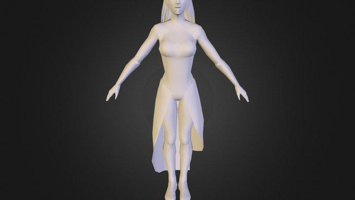 Fleur 3D Model