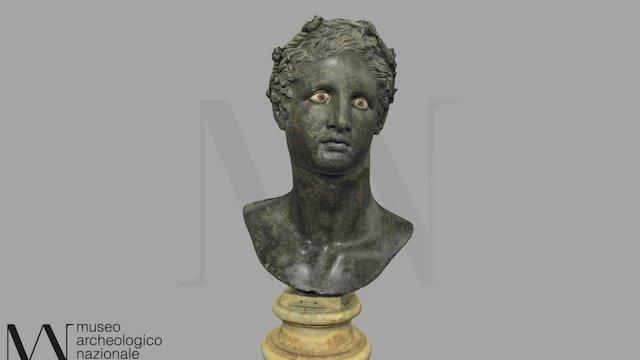 Busto di Eracle tipo Lansdowne 5594 3D Model
