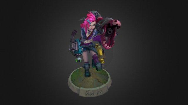 Slayer Jinx 3D Model