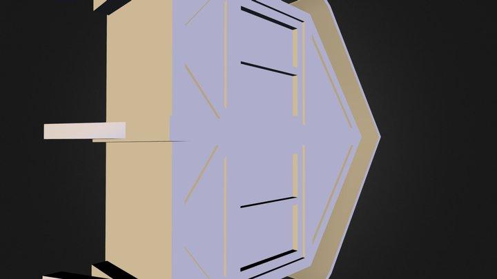 f1_balcony03.fbx 3D Model