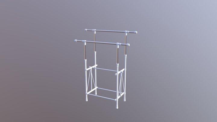 laundry rack 3D Model