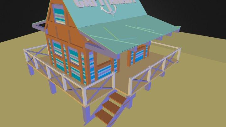 citudorien porthouse 3D Model