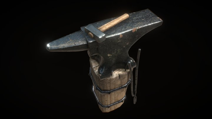 Anvil Nature Morte 3D Model