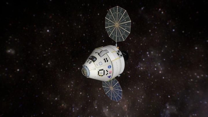 Orion CEV 3D Model