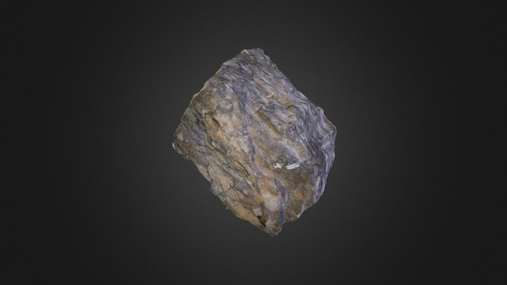 Stretched conglomerate 3D Model