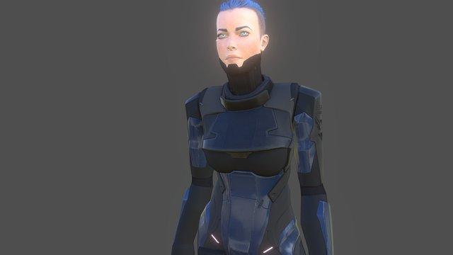 DCF Overwatch Under Armor 3D Model