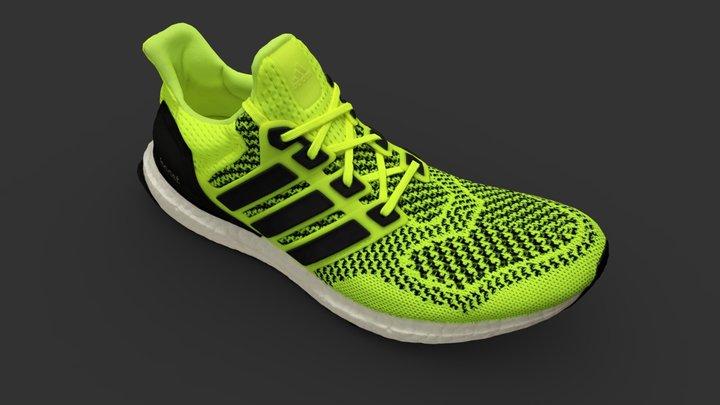 Adidas Ultra Boost Shoe 3D Model
