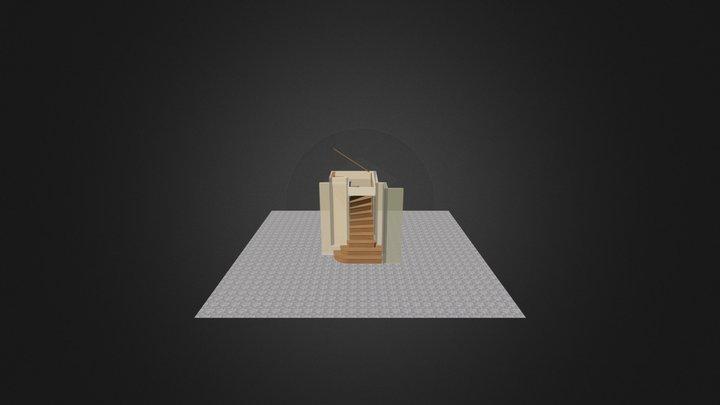 Trappa Tobias Ejnarsson 150205 3D Model