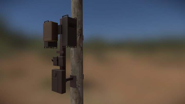 3D Small Cell Site 3D Model