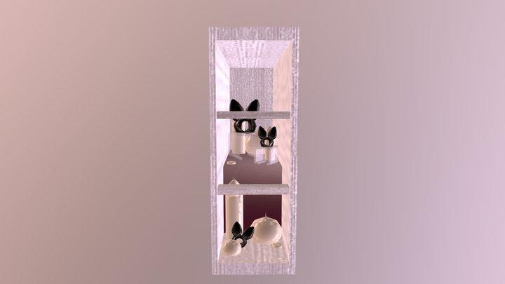 Wicker Bun Window 3D Model