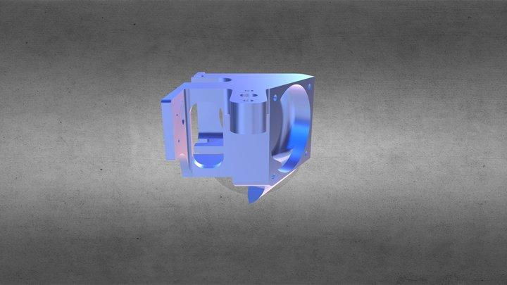New Extruder Block 3D Model