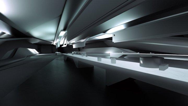 Concept Architecture 3D Model