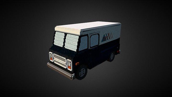 Chevrolet P10 Step Van 3D Model