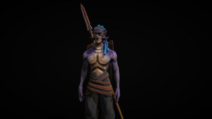 Character Fantastic 3D Model