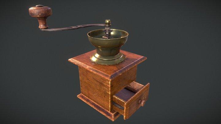 Marcel's Coffee Grinder 3D Model