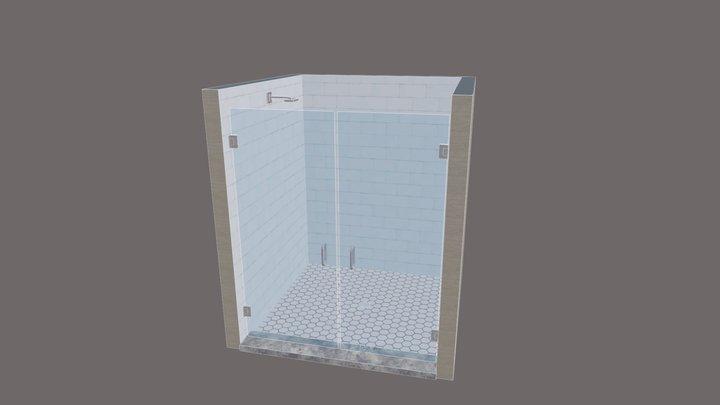 French Door 3D Model 3D Model