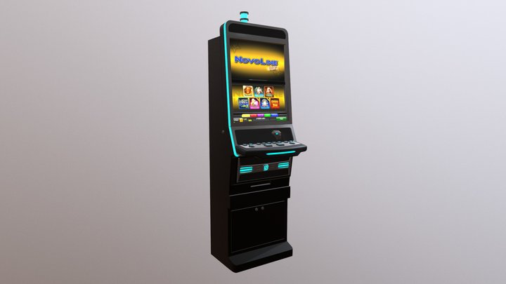Slot Machine 1 3D Model