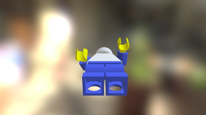 Normal minifig 3D Model