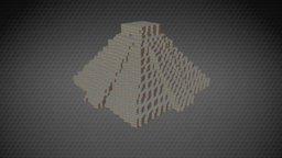 Chichen Itza 3D Model