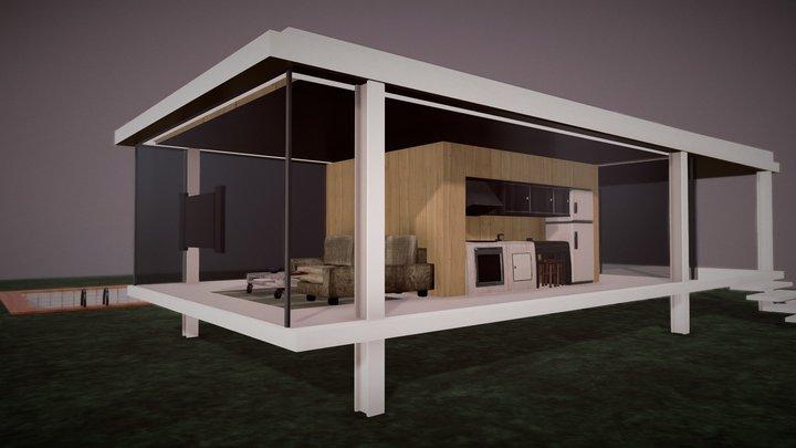 CRISTAL HOUSE - Atr_Studio 3D Model