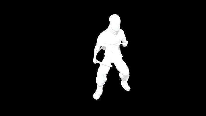 Character design (Jedi knight) 3D Model
