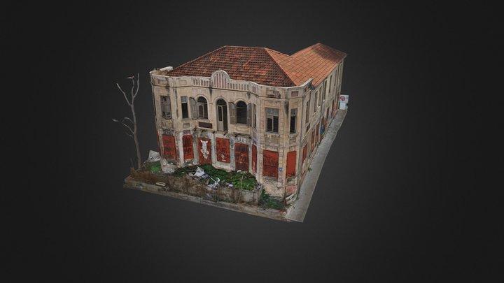 Brenner 10 - Facades 3D Model
