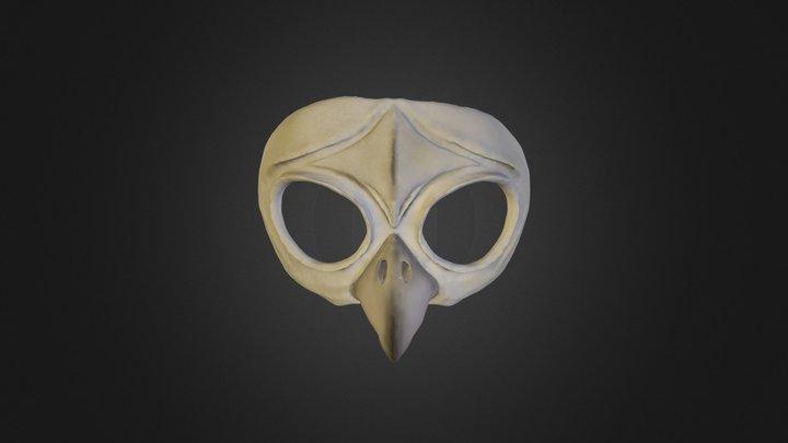Owl Mask 3D Model