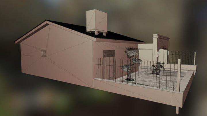 Modelo Fachada 3D Model