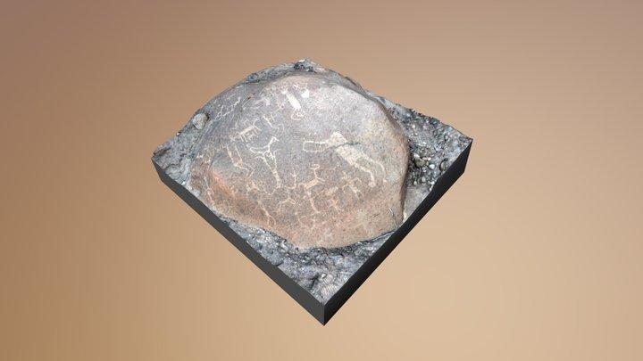 Casanova Petroglifo Optimizado 3D Model