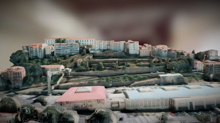 Coimbra, Portugal - Forteresse Project 3D Model