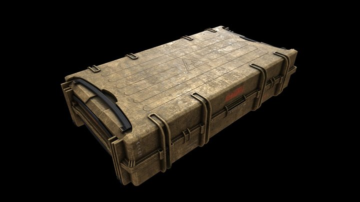 Gun Suitcase 3D Model